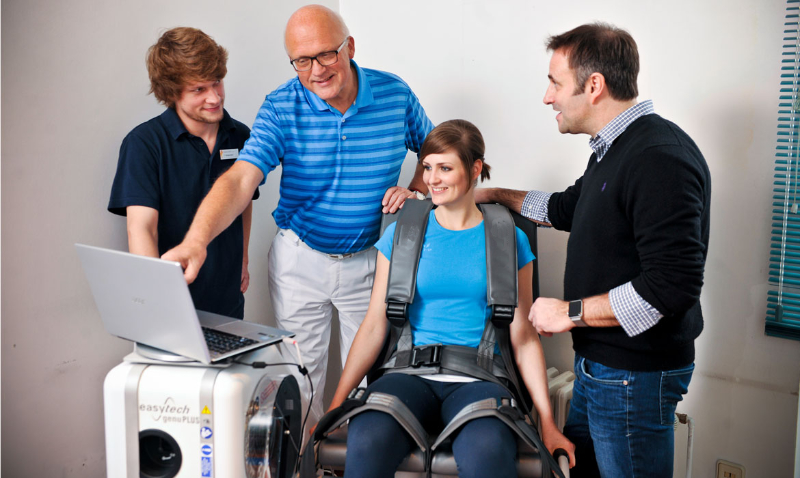 Isokinetisches Training bei Dr. Frohberger